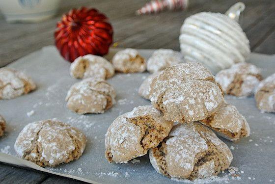 Silvia Colloca's X'mas Hazelnut Cookies (Dolcetti alle Nocciole)