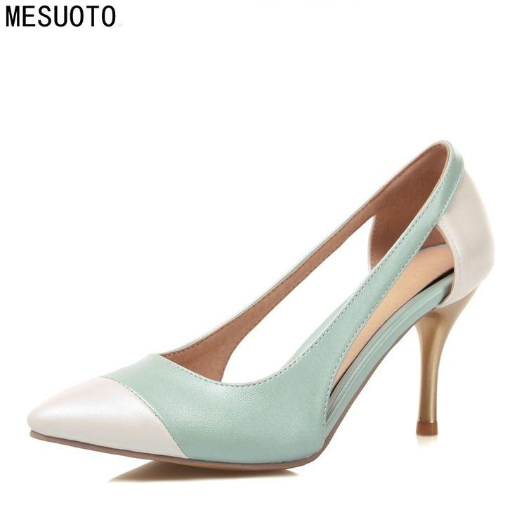Ucuz MESUOTO Yeni Moda Yaz Stil Bayan Ayakkabı Hava Sivri Burun Stiletto İnce Yüksek Topuklar Üzerinde Kayma Pompalar Kadın Ayakkabı Burun Boyut 43, Satın Kalite Kadın Pompaları doğrudan Çin Tedarikçilerden: MESUOTO Yeni Moda Yaz Stil Bayan Ayakkabı Hava Sivri Burun Stiletto İnce Yüksek Topuklar Üzerinde Kayma Pompalar Kadın Ayakkabı Burun Boyut 43