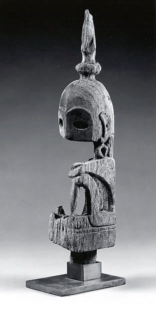 Ancestor Figure (Yene) Date: 19th–early 20th century Geography: Indonesia, Leti Islands, Maluku Tenggara Culture: Leti Islands Medium: Wood Dimensions: H. 16 1/2 in. (41.9 cm) Classification: Wood-Sculpture Credit Line: Gift of Fred and Rita Richman, 1988 Accession Number: 1988.143.103 On view in Gallery 355