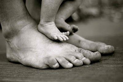 Daddy + Baby Feet