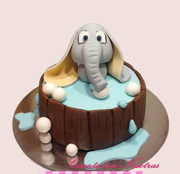 Torta elefantito Torta Baby shower Baby Shower Cake