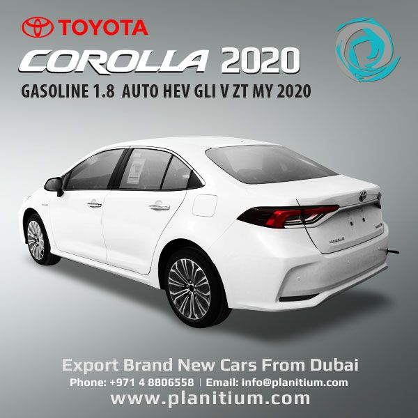Toyota 2020 Corolla Gasoline Hev Gli V Cars From Uae Toyota Corolla Toyota Corolla Car