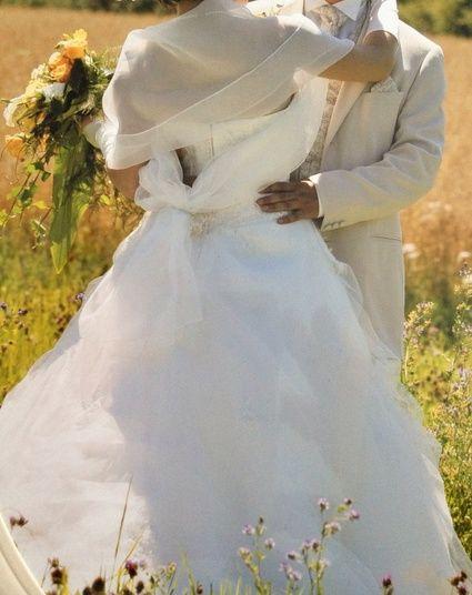 Robe de mariée d'occasion de chez Complicité Mariage