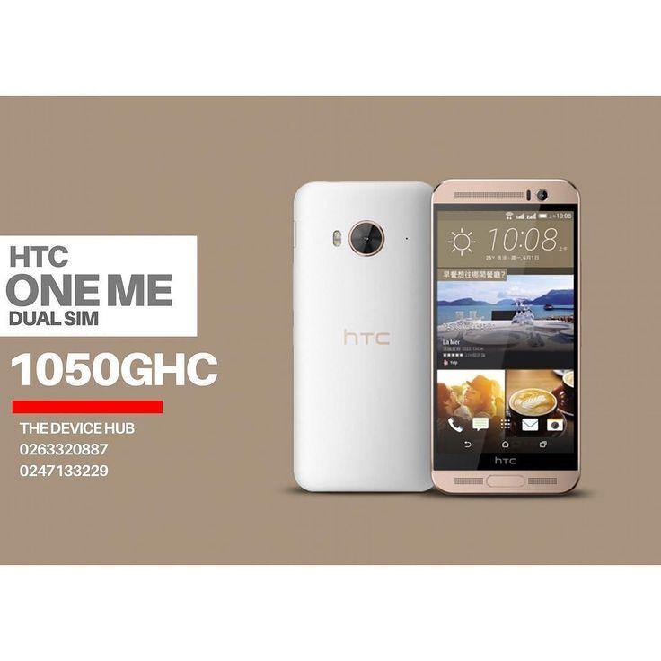 HTC ONE ME DUAL SIM PRICE:1050GHC  TO ORDER  CALL: 0263320887/0230357751 WHATSAPP: 0263320887 always demand an e-receipt after purchase  WE DELIVER NATIONWIDE #Kumasi #Accra #Ho #Sunyani #CapeCoast #Takoradi #Tamale #koforidua #Wa  #Bolgatanga #Tarkwa
