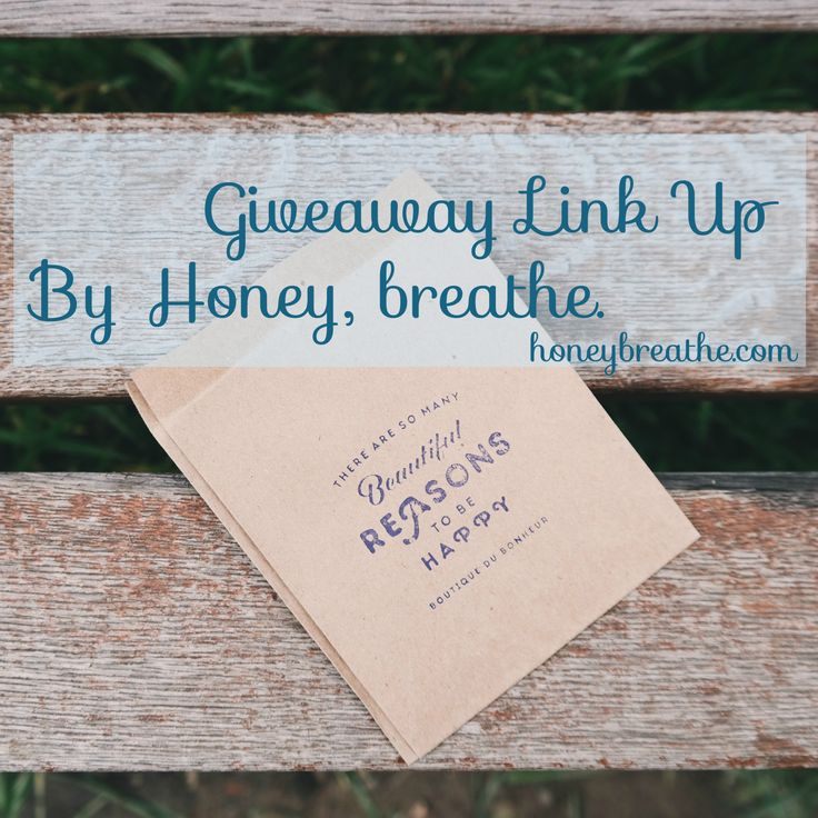 Giveaway Linky | Giveaway Link Up | Freebies | Share your giveaway | Honey, breathe | doTERRA giveaway |