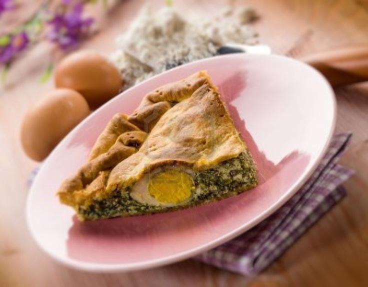Pasqualina Cake Traditional Italian Easter Food