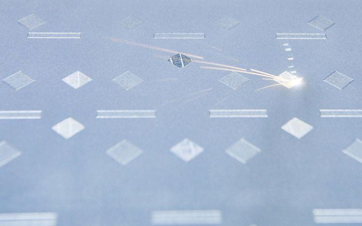 Direct Metal Laser sintering in action