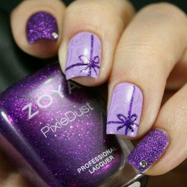 Zoya purple pixie dust... beautiful!