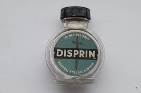 Disprin - with a piece of cotton wool in the top if I remember rightly?!