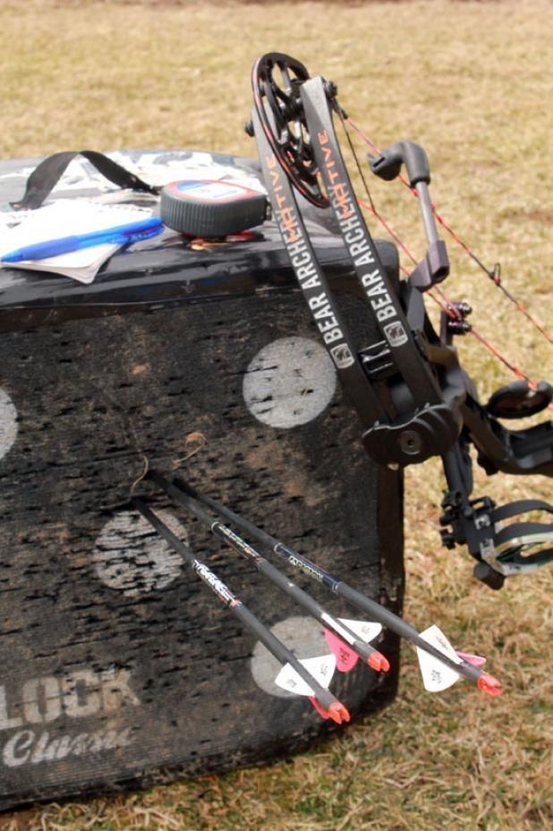 Bowhunting Tip: How to Shoot Better in 30 Minutes. Definitely going to try this. Accuracy can always improve. (:
