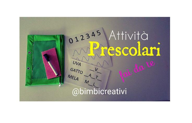 Idee+per+ATTIVITA'+PRESCOLARI+fai+da+te