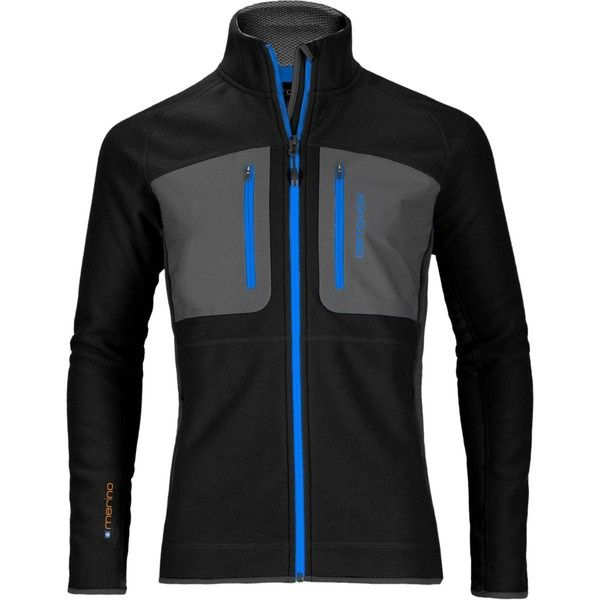 Ortovox Tec Fleece Jacket ($148) ❤ liked on Polyvore featuring men's fashion, men's clothing, men's activewear, men's activewear jackets and mens activewear