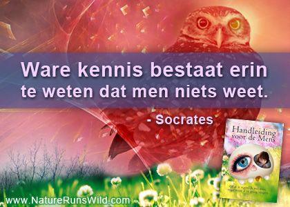 Ware kennis bestaat erin te weten dat men niets weet. - Socrates