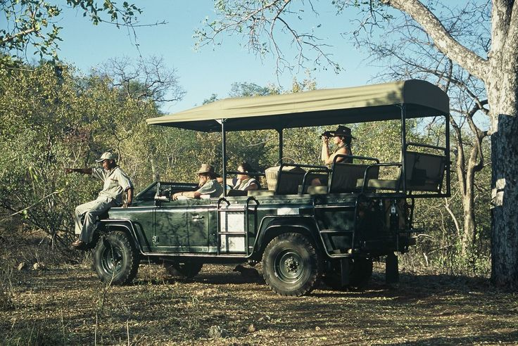On game drives we get really close to the game
