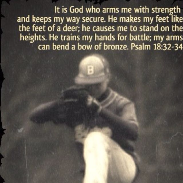 Psalm18:32-34