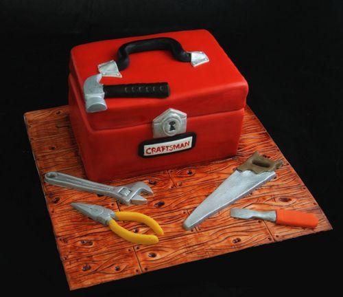 Fondant Toolbox Cake