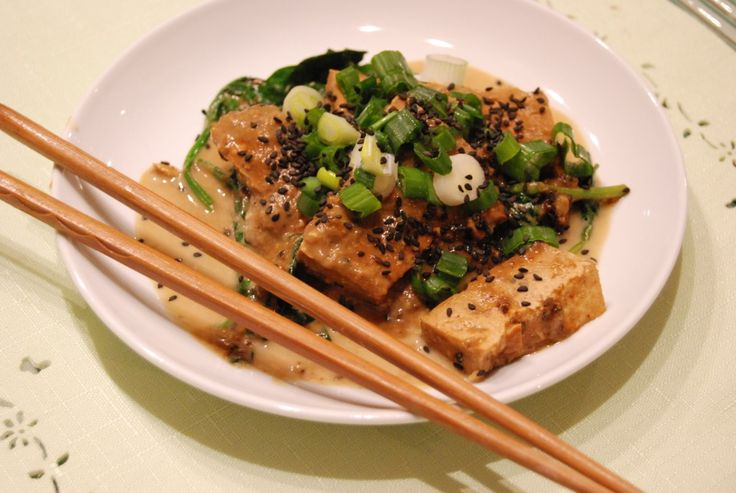 Japanese Style Slow Cooker Tofu   Active Vegetarian, Nutrition and Fitness Tips for Plant Based Eaters