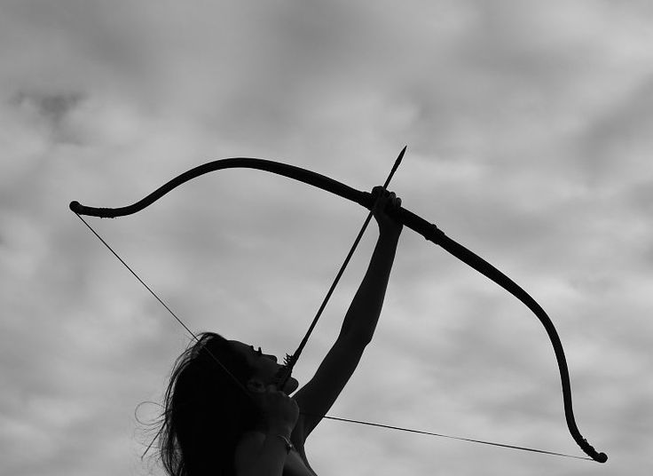 When is a girl with a bow and arrow not cool?
