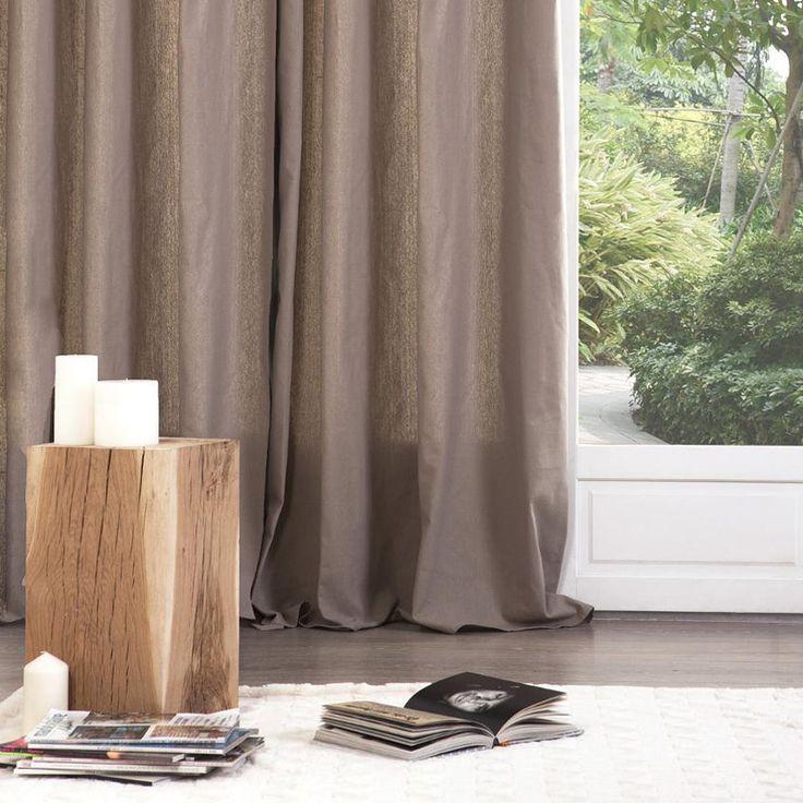 Coppia di tende (135 x H240 cm) Lina Color Lino : scegli tra tutti i nostri prodotti Tenda confezionata
