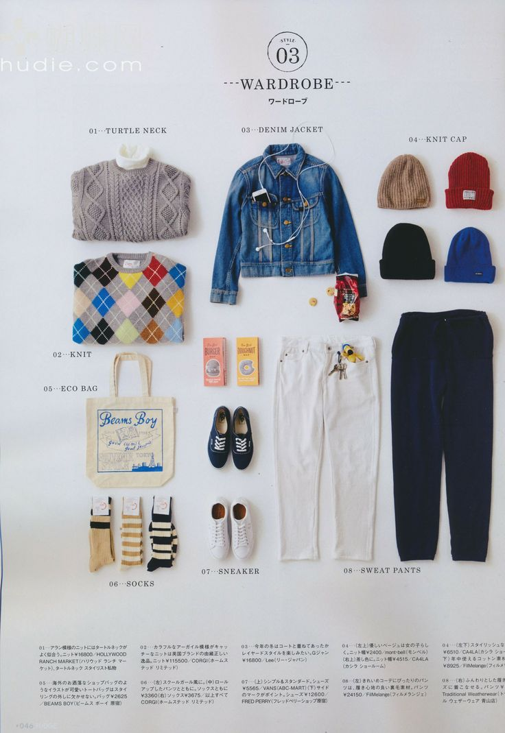 Fudge magazine 14.02 Wardrobe