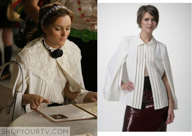 Gossip Girl: Season 2 Episode 4 Blair's White Cape