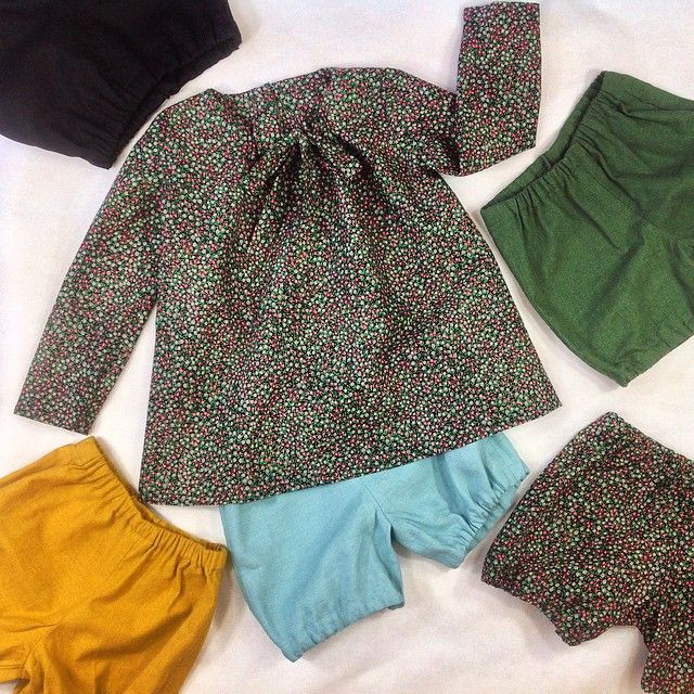 We took some photos today. Hmmmm.... Which shorts suits best?  #photo #photosession #fashion #kids #kidsfashion #slowfashion #fairtrade #sew #sewing #dress #shorts #pants #cotton #linen #colourful #flowerprint #spring #summer #ss2015 #work & #fun #queenzoja