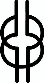 West African symbol for wisdom, ingenuity, intelligence,  patience