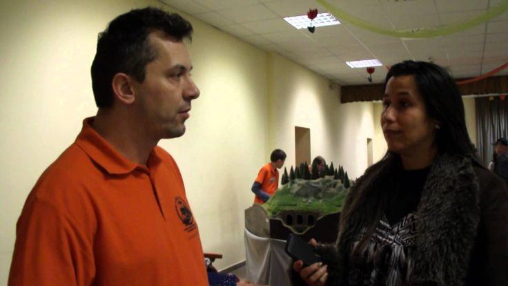 Vasútmodell kiállítás - Krajcsír Józseffel beszélgettünk a vasútmodellek...