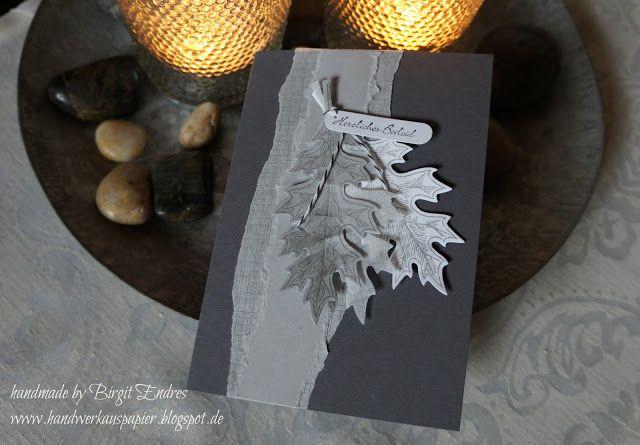 HandWerk aus Papier: Wie ein Blatt im Wind..........