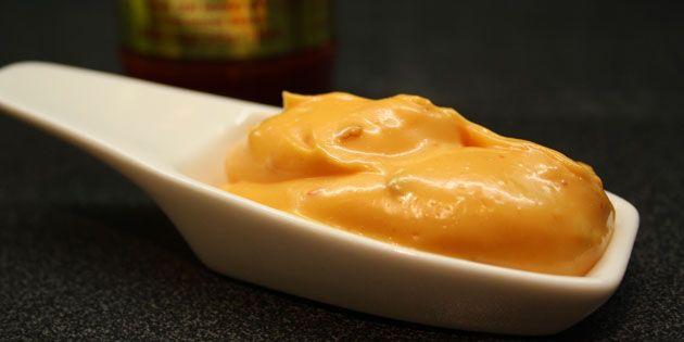 Chilimayo med sambal oelek