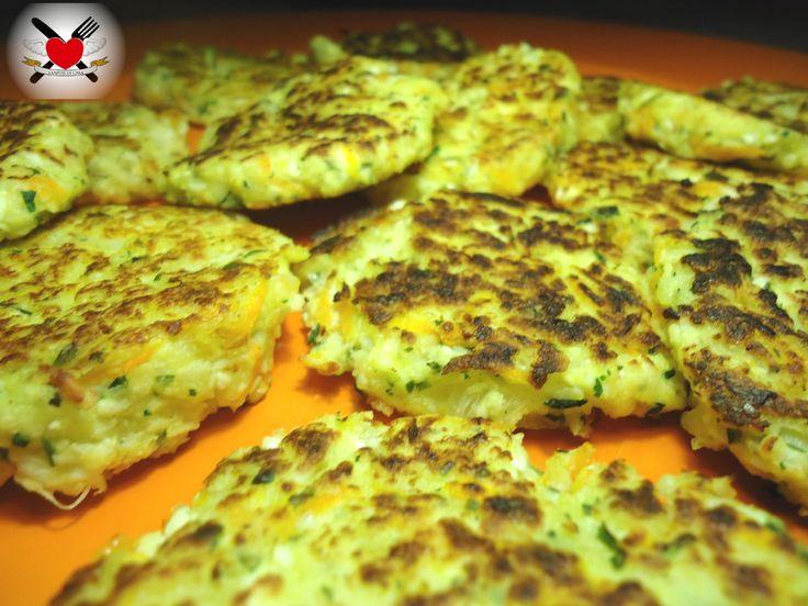 Frittelle di cavolfiore carote e patate - ricetta facile e leggera