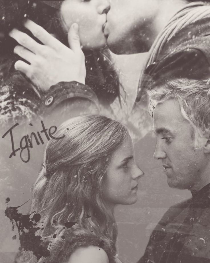 "mudbloodincendio:   ""Are you going to kiss me now,... - Dramione Is Life"