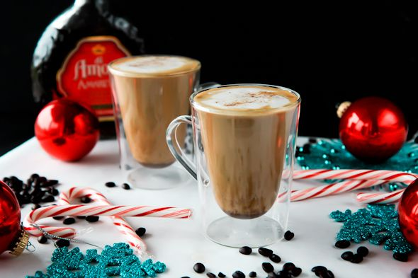 amaretto spiked eggnog latte « Food « back to her roots