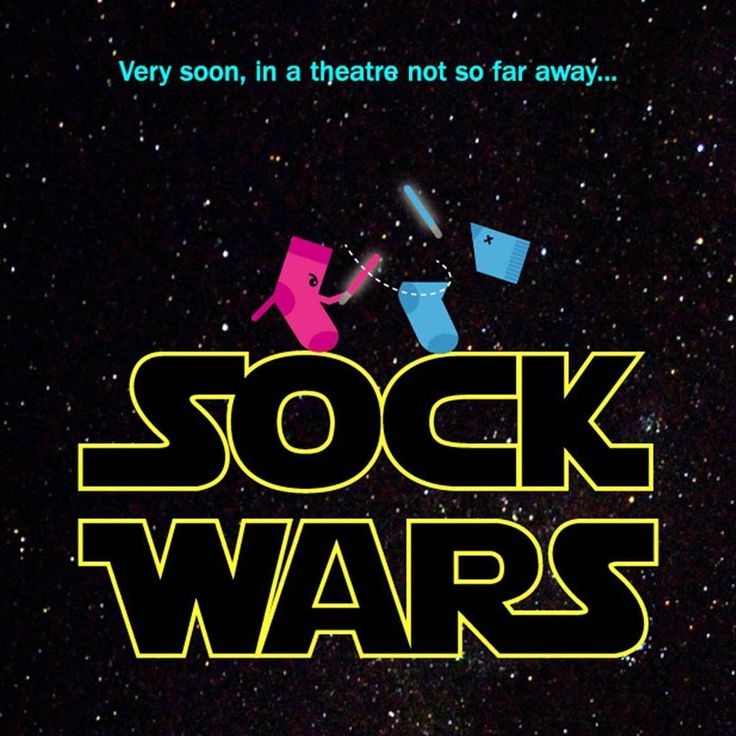 Today we are looking back at Sockies 2014 (Sock Wars). Happy Star Wars day everyone 😀 #wcportfolio #starwars #starwarsday #sockies14 #sockies #maythe4thbewithyou #design #work #tbt