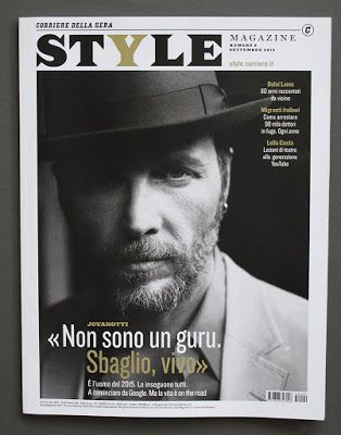 Toni Thorimbert: The blog behind the images.: Style > Jovanotti > Berruti / Io Donna > Incontrada > #Artwork