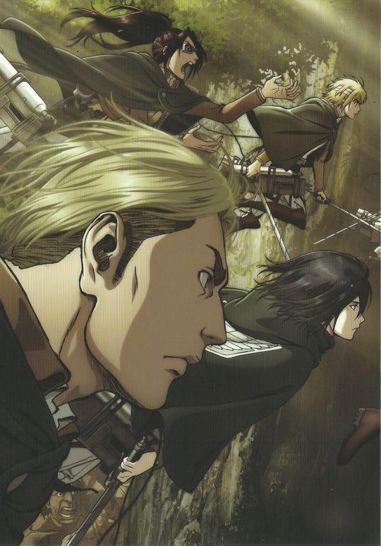 Shingeki No Kyojin - Ataque a los Titanes - Ataque de los Titanes - Attack On Titan - Season 2