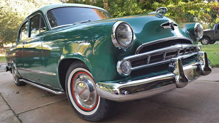 Mister Grinch: 1953 Dodge Coronet - http://barnfinds.com/mister-grinch-1953-dodge-coronet/