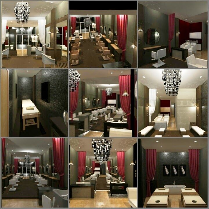 ARADES LIVING - FURNITURE & INTERIOR: Desain Interior Salon di Duren Sawit