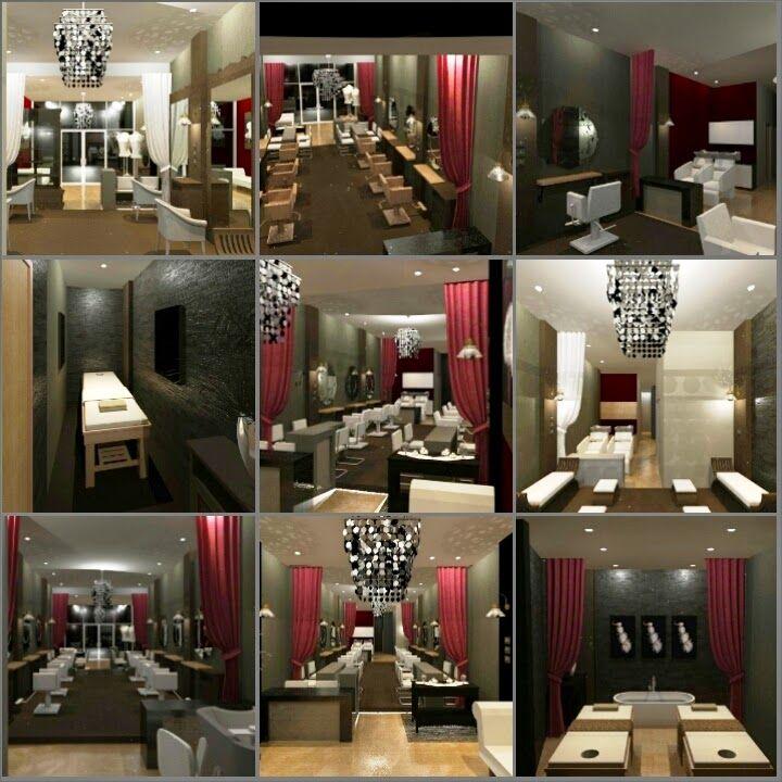 ARADES LIVING - FURNITURE & INTERIOR: Desain Interior Salon di Duren Sawit