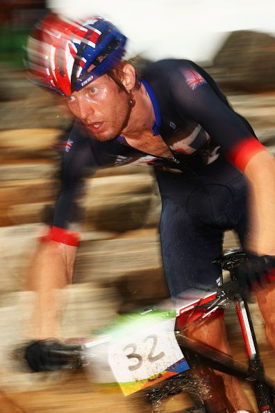 Grant Ferguson of Great Britain or Team GB rides during the Men's CrossCountry…