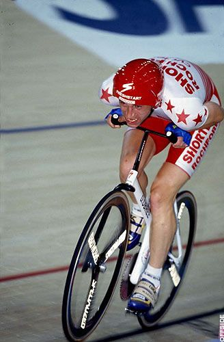 On 17th July 1993, Graeme Obree stunned the international cycling world when he emerged from obscurity to smash Francesco Moser's World Hour Record. A prolific time trialist, Obree briefly held a pro contract but realised his greatest achievements as an underdog while holding amateur status. His innovative bike designs and riding positions were consistently rebuked by the sport's governing bodies.
