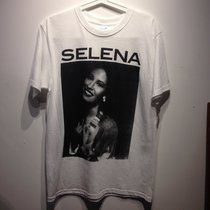 Authentic Selena Quintanilla x MAC collectible t-shirt ✨ anything for Selenas!!! Going for $70-$100 on Ebay/Poshmark #cybermonday @depop @depopfamous - Depop