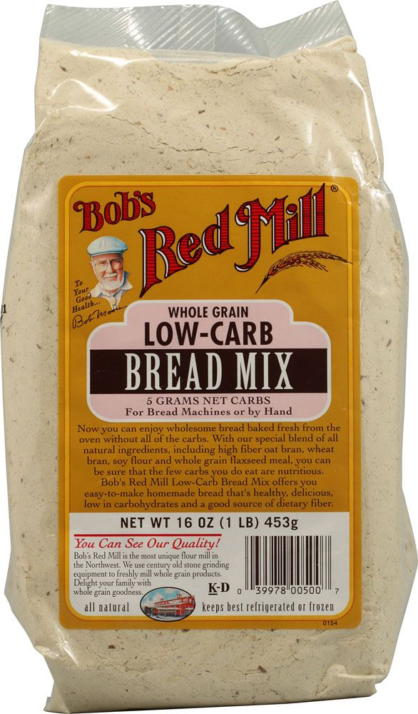 Bob's Red Mill Low-Carb Bread Mix.   This is ok but for the price I'd just as soon make my own with one of the recipes using almond or coconut flour. However, redundant diversity is a very good thing :>)