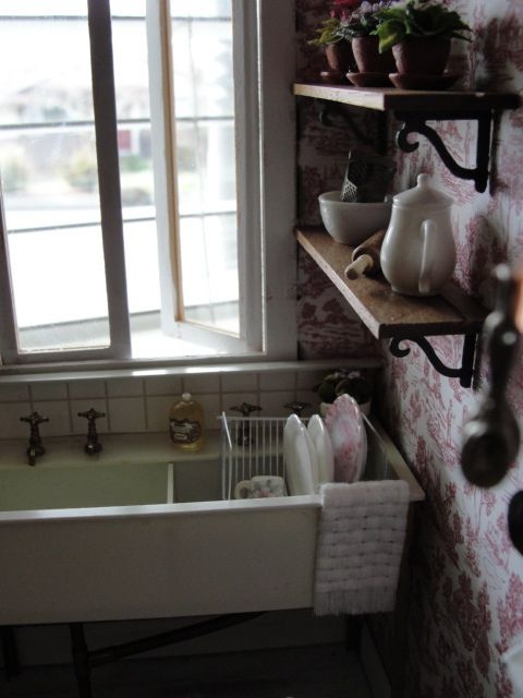 Dishes are done :) by It's a miniature life...is playing with clay, via Flickr