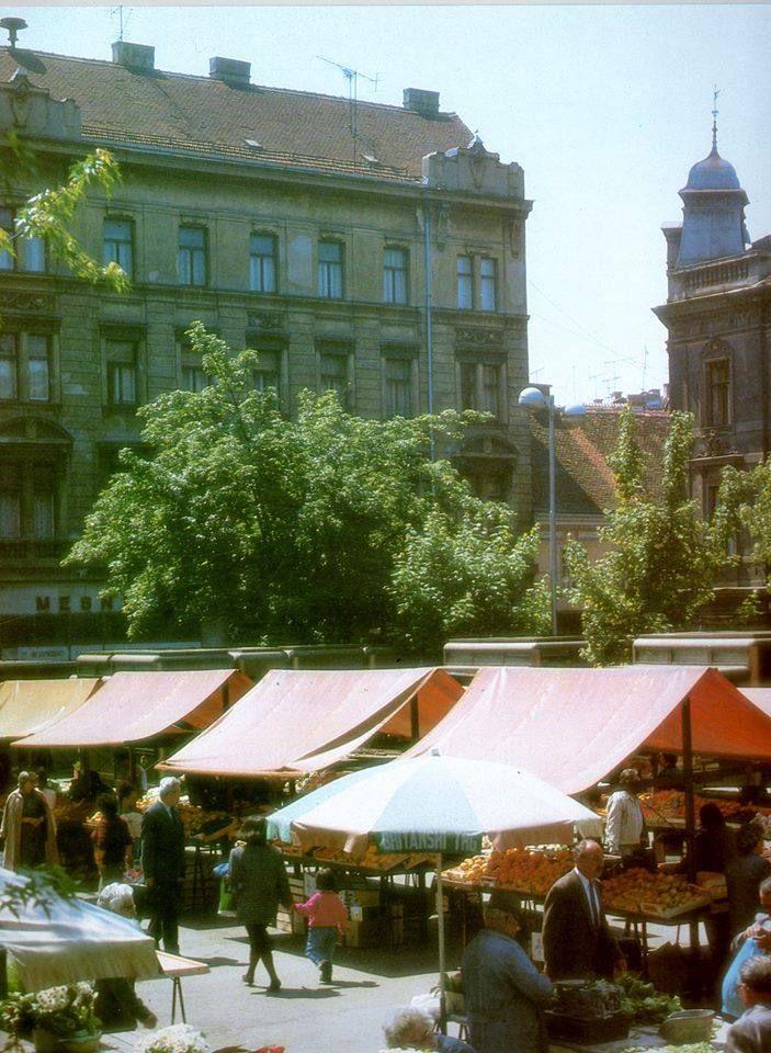 Ljetni Dan Na Britancu 1990 Photo C Nepoznati Autor Zagreb Croatia Photo
