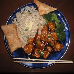 General Tsao's Chicken II Allrecipes.com: Food Chicken, Chicken Dishes, Chicken Ii, General Tsao S, Tsao S Chicken, Drink Recipes, Allrecipes Com, Sauce, Gonna