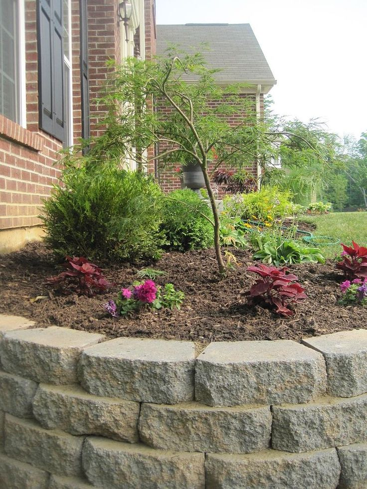 25 best ideas about landscaping retaining walls on for Retaining wall plants landscaping