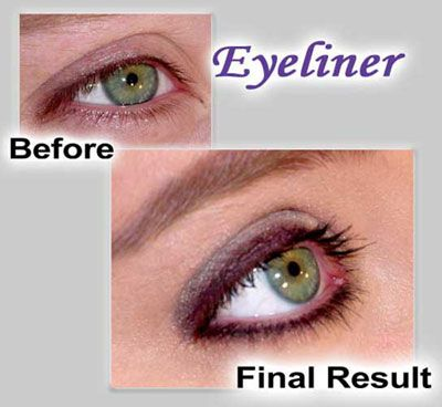 Eyeliner With Shadow In 2019 Permanent Eyeliner
