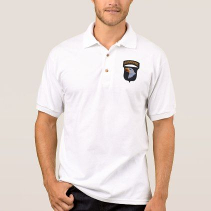 #women - #101st ABN Airborne Division Screaming Eagles Vets Polo Shirt