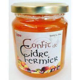 Confit de cidre fermier - produit breton - Bretagne - www.epicerie-cote-bretagne.fr -